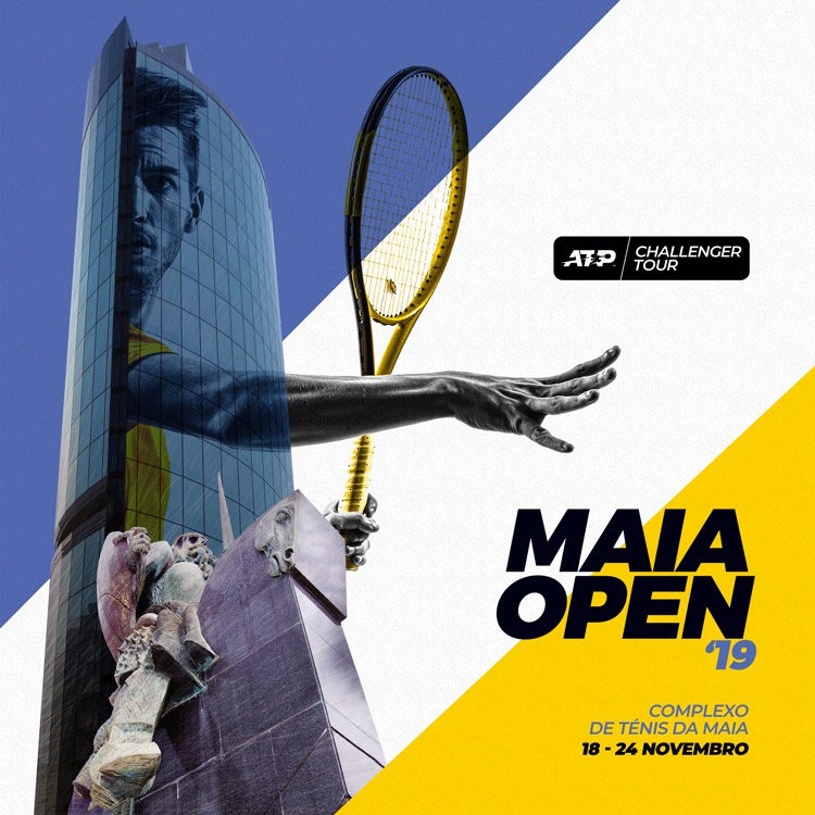 Circuito ATP regressa aos courts da Maia